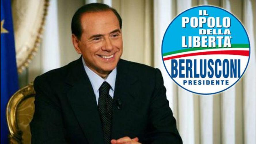 Elezioni 2013, cosa propone Silvio Berlusconi per noi automobilisti