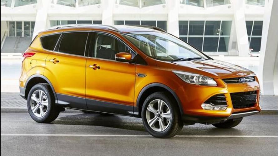 Ford Kuga, arrivano i motori Euro 6