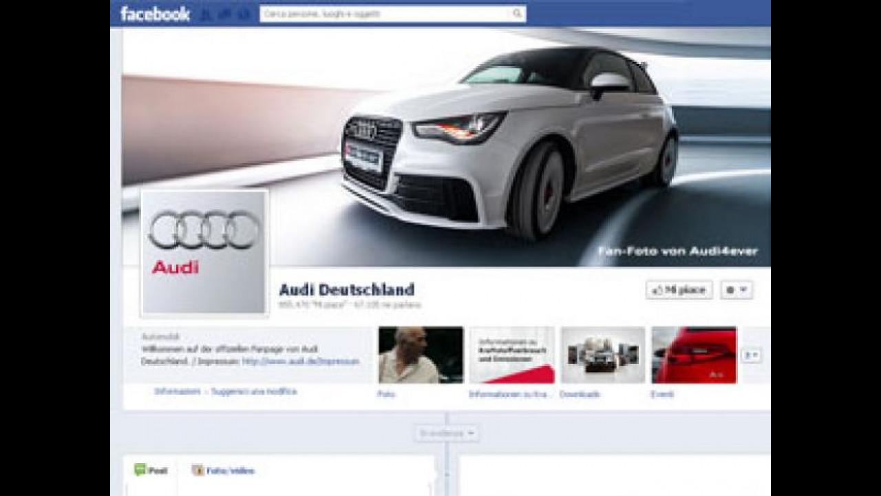 [Copertina] - Audi, la mostra la fanno i fans di Facebook
