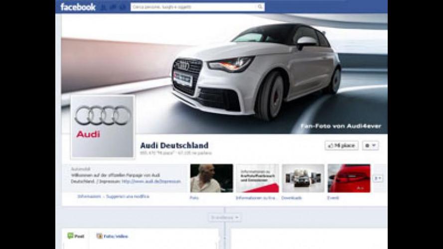 Audi, la mostra la fanno i fans di Facebook