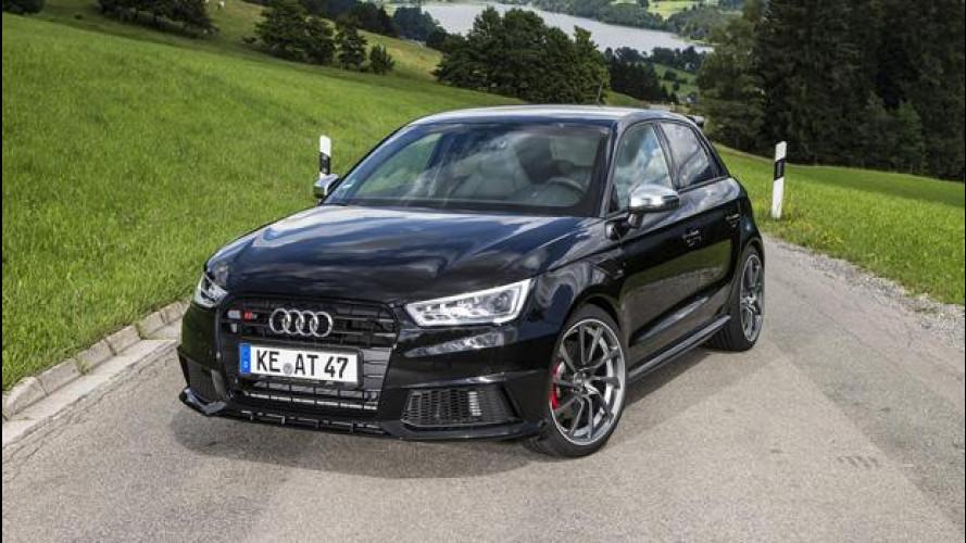 Audi S1 ABT, le dimensioni non contano