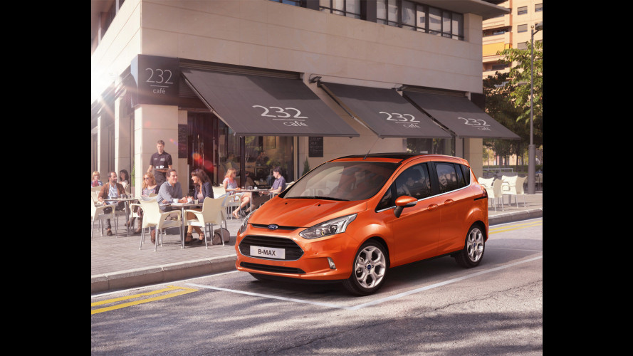 Ford B-MAX in anteprima al Mobile World Congress