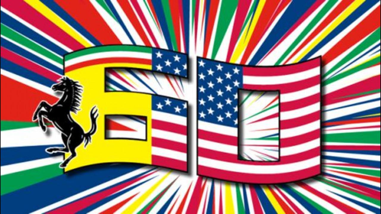 [Copertina] - Ferrari, così domenica 12 ottobre si festeggiano i 60 negli USA