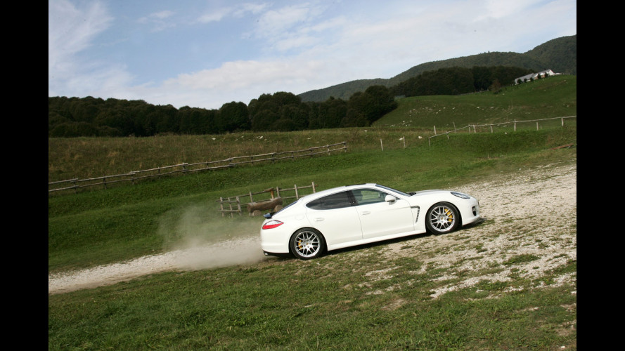 Michelin e Porsche: insieme sulla nuova Panamera