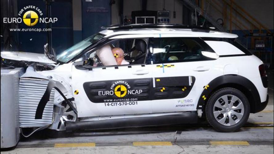 Crash Test Euro NCAP, stellati i sistemi di sicurezza