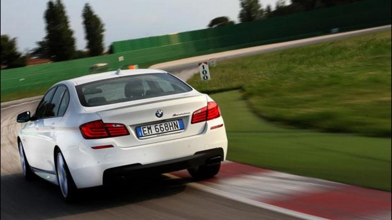 [Copertina] - BMW M550d xDrive, sportiva eppur Diesel