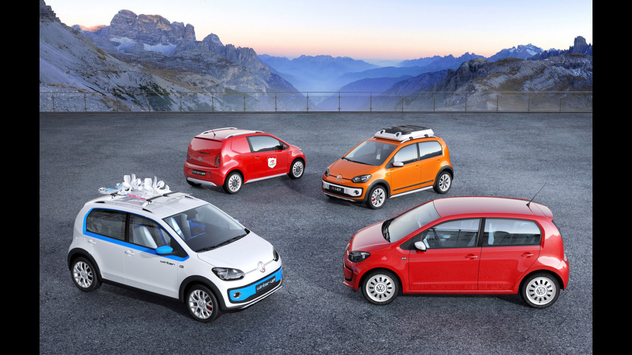 Volkswagen up! - I prototipi al Salone di Ginevra 2012
