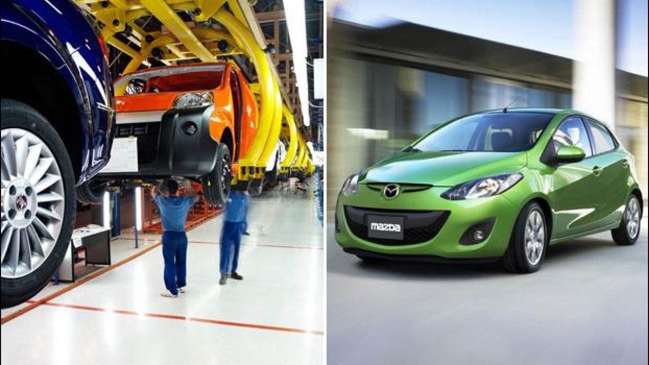 [Copertina] - Le Mazda potranno nascere negli stabilimenti Fiat-Chrysler