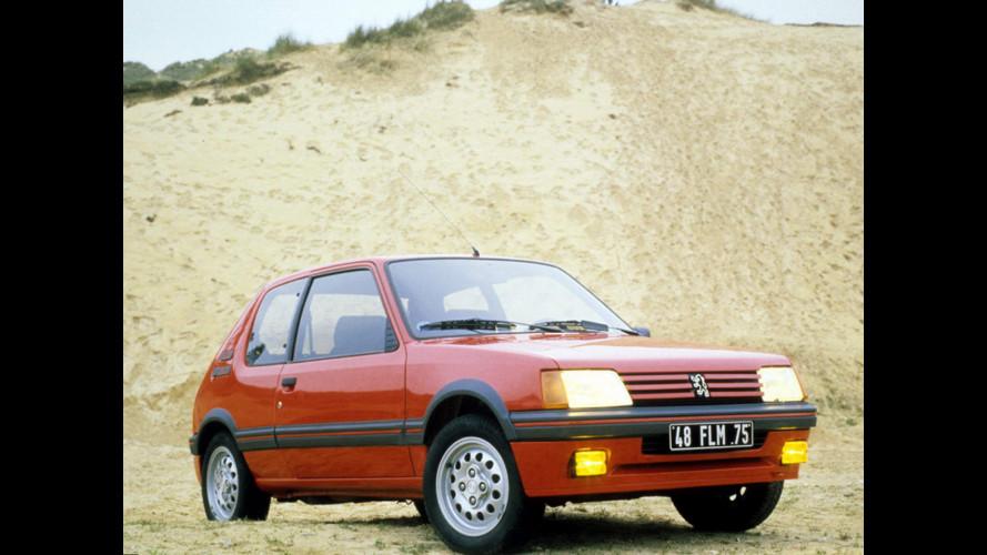 Peugeot 205 GTi: gli anni '80, la ricerca… la scelta!