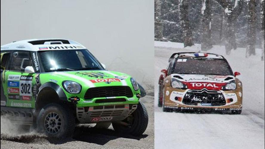 [Copertina] - Weekend OmniCorse.it: parte il WRC, gran finale della Dakar