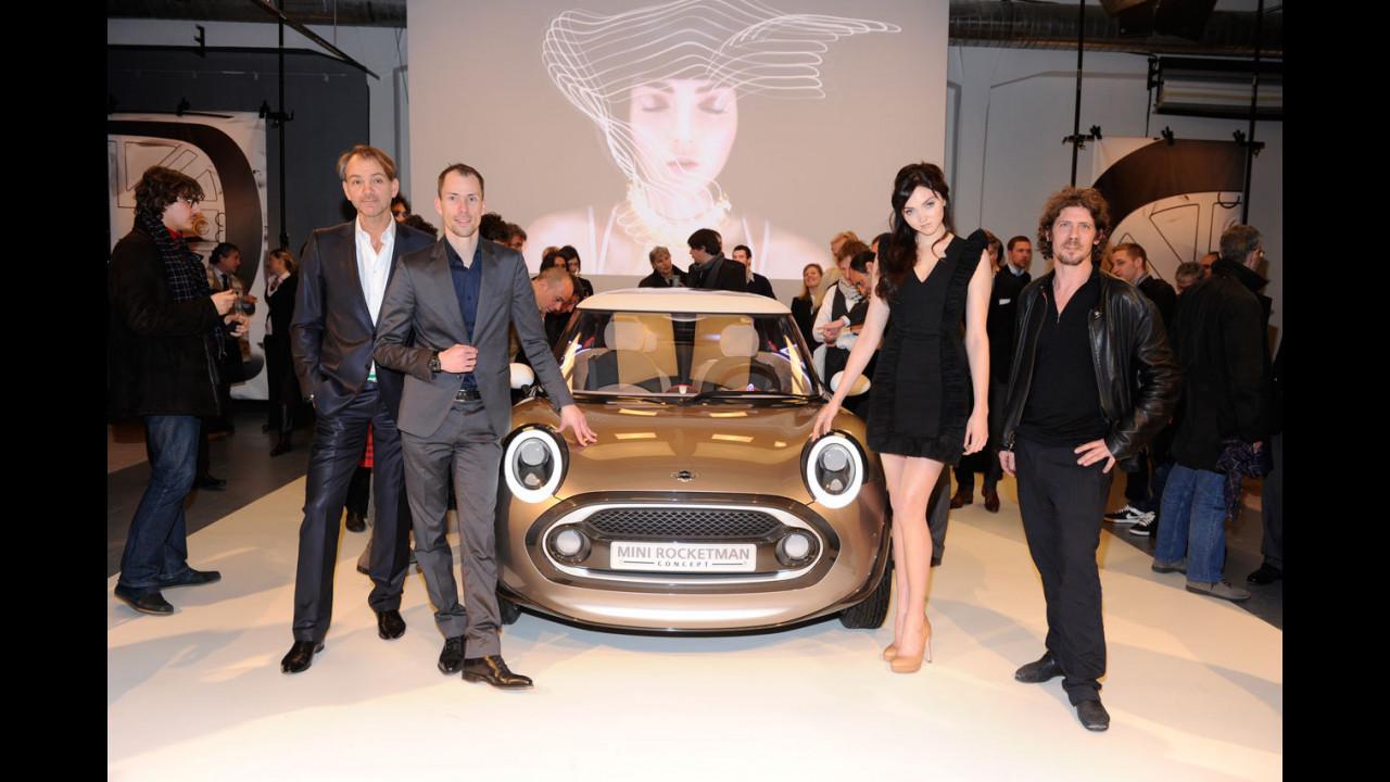 MINI Rocketman Concept alla Settimana della moda di Milano