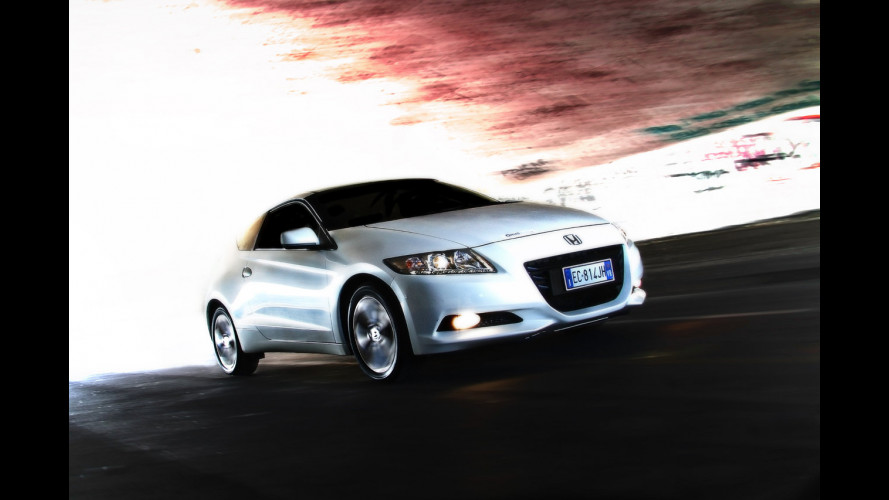 Honda CR-Z, l'ibrida