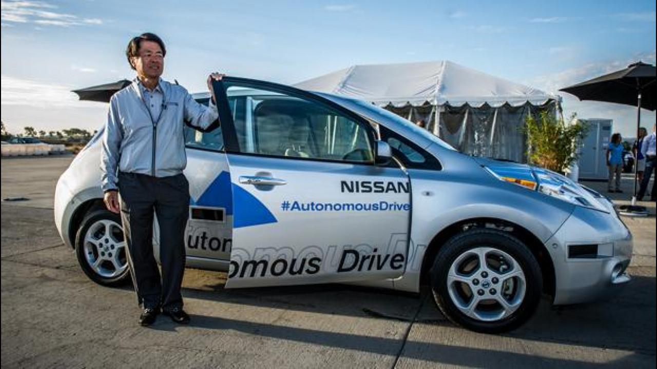 [Copertina] - Nissan Leaf, oggi guida lei!