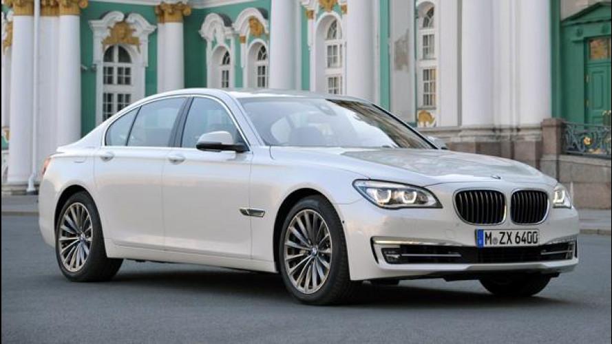 BMW Serie 7 restyling, i prezzi
