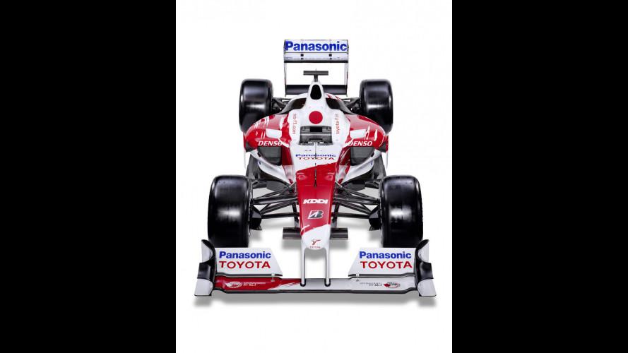 Toyota F1: la TF110 del 2010 in vendita?