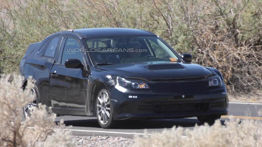 Toyota/Subaru FT-86 Coupe mule spied