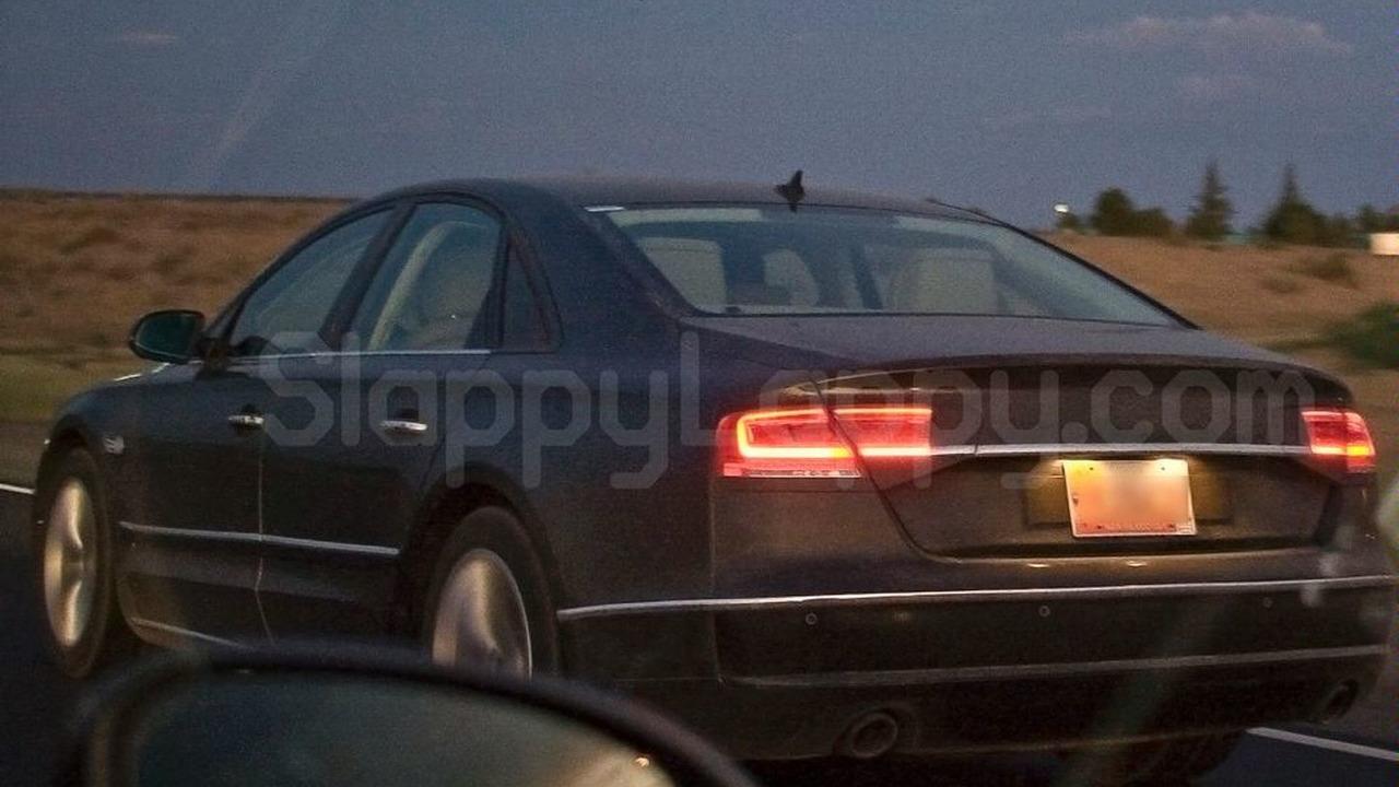 Audi A8 prototype spy photo, Arizona, 08.08.2009
