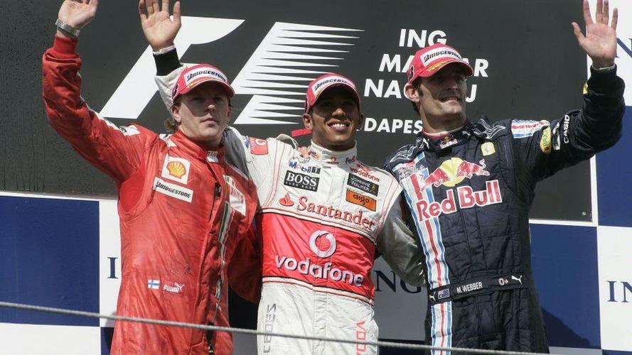 Hungarian Grand Prix 2009 Final Results [Spoiler]