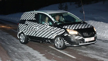 Opel Meriva prototype spy photo