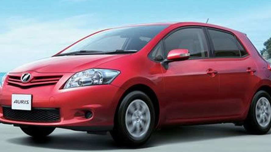 Toyota Auris Treated To A Mild Facelift