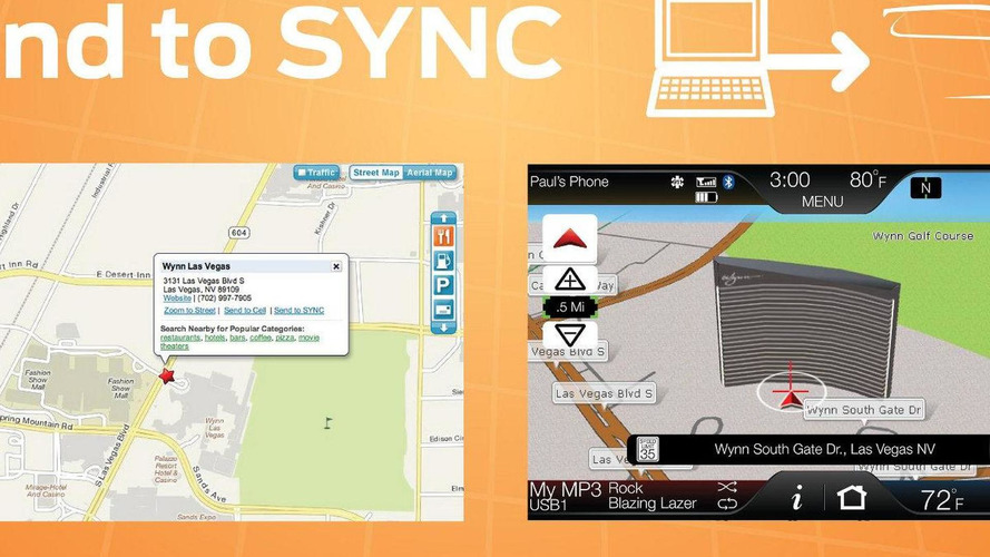 Ford adds Google Maps 'Send to SYNC' feature for free