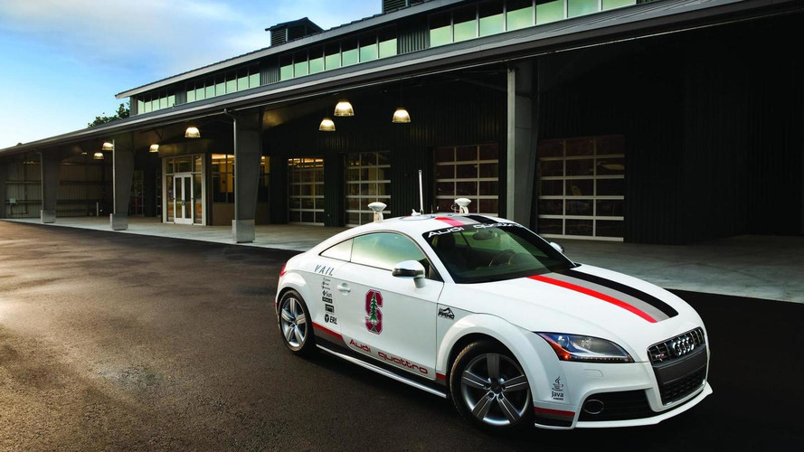 Autonomous Audi TTS Pikes Peak gets new look [video]