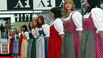 Grid Girls, Austrian GP, A1 Ring, Oesterreich, Zeltweg, Spielberg, Austria, 18.05.2003