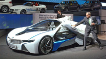 BMW Vision EfficientDynamics Concept Unveiling at Preview event on the eve of the 2009 Frankfurt Auto Show