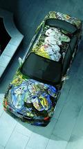 Sandro Chia (I) 1992 BMW 3-Series Racing Touring Car Prototype art car - 1600