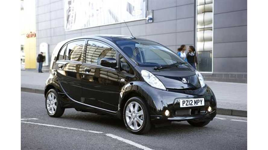 Mitsubishi Halts Production Of The Peugeot-Citroen Rebadged i-MiEV Due To Slow Sales