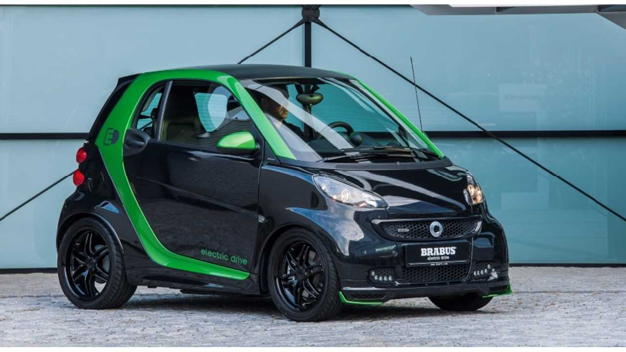 electric green style package brabus