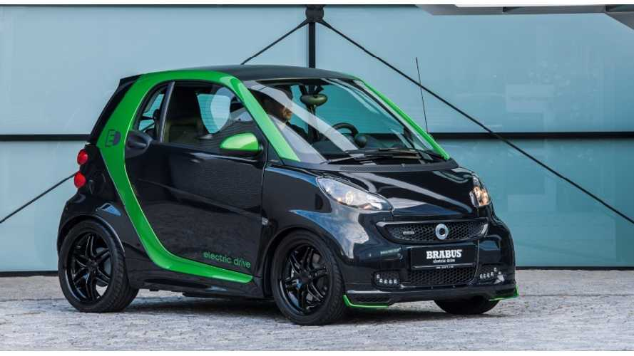 Upcoming Smart Electric Drive  Not Good Enough?  Daimler Introduces The BRABUS Edition