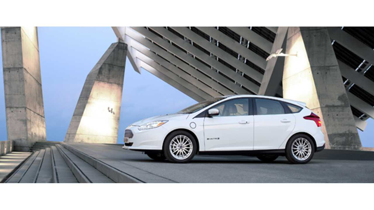Ford Focus Electric Scores Five-Star Safety Rating from NHTSA