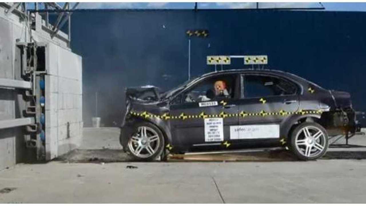 NHTSA Awards Coda Electric Sedan 4 Stars Overall in Crash Tests
