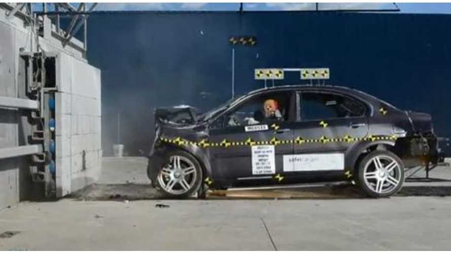 NHTSA Awards Coda Electric Sedan 4 Stars Overall in Crash Tests
