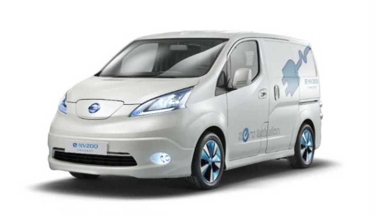 Nissan Continues to Gauge Interest in LEAF-based Electric e-NV200 Van
