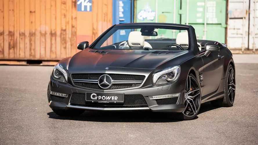 G-Power Modifiyeli Mercedes-AMG SL63