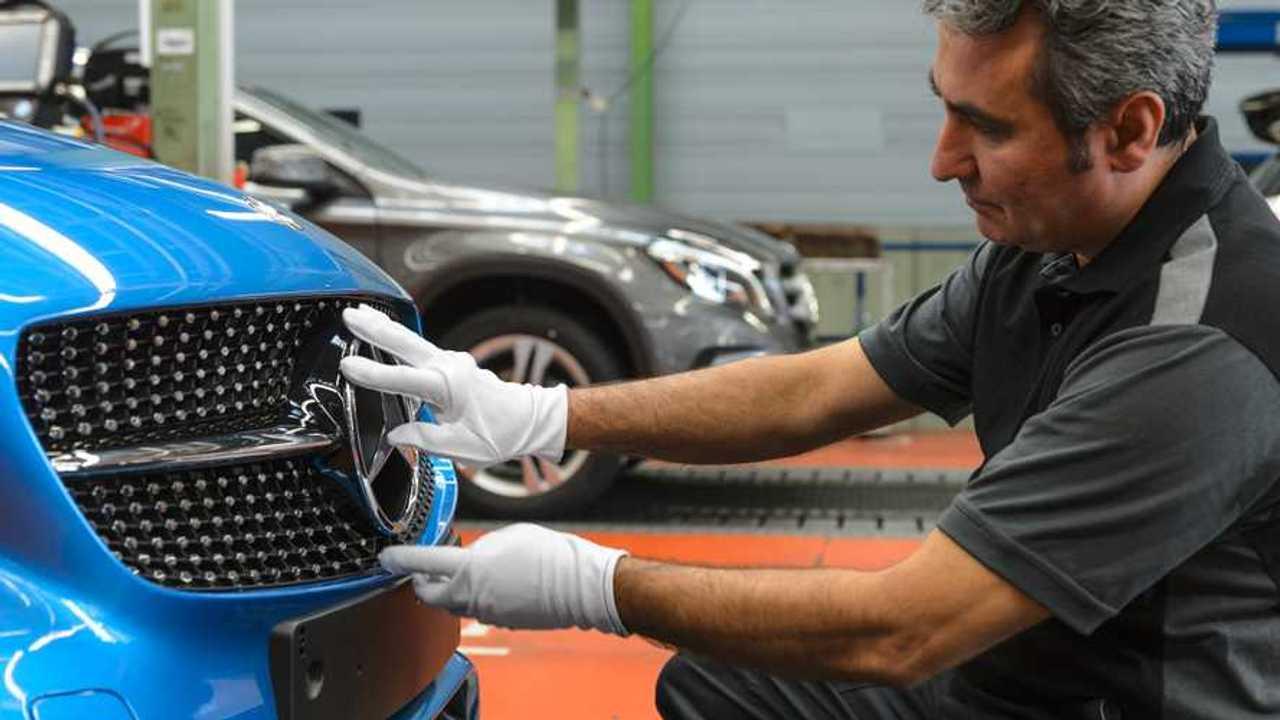 Mercedes-Benz A-Class Production