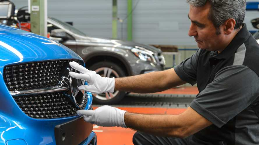 Mercedes-Benz A-Class Production