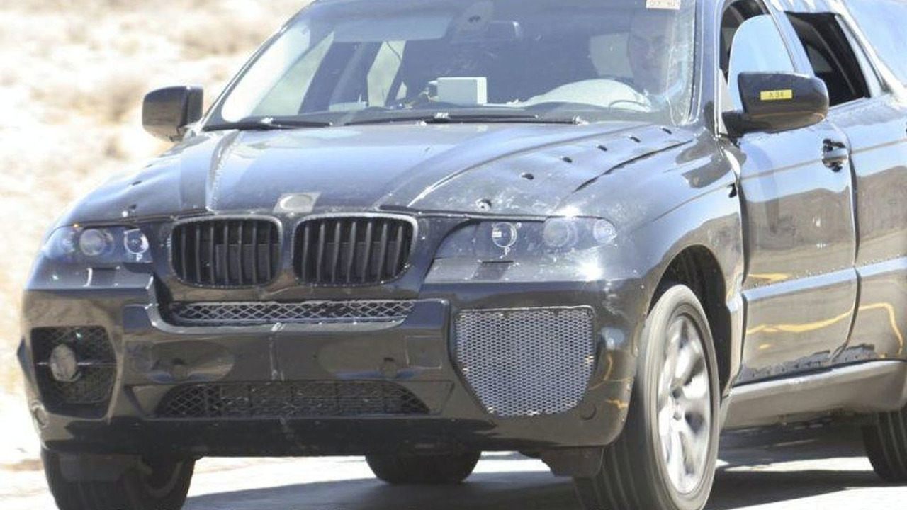 BMW X6 Front End Uncovered