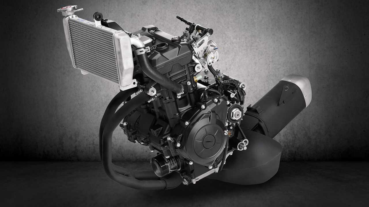 2019 Yamaha YZF-R3 Engine