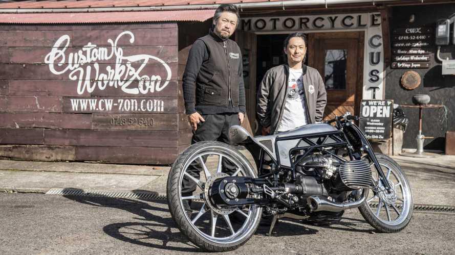 BMW revela conceito Departed, moto personalizada por customizadores japoneses