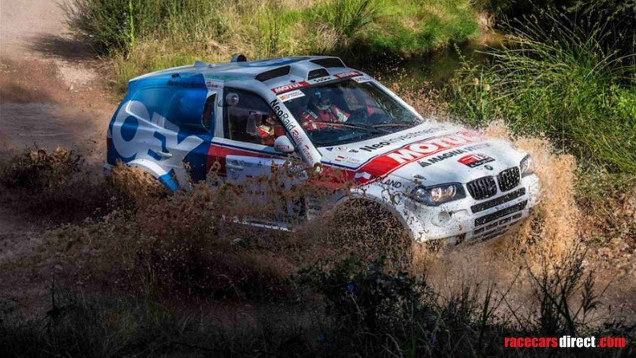 Dakar Spec Bmw X3 Cross Country Is Ready For Anything