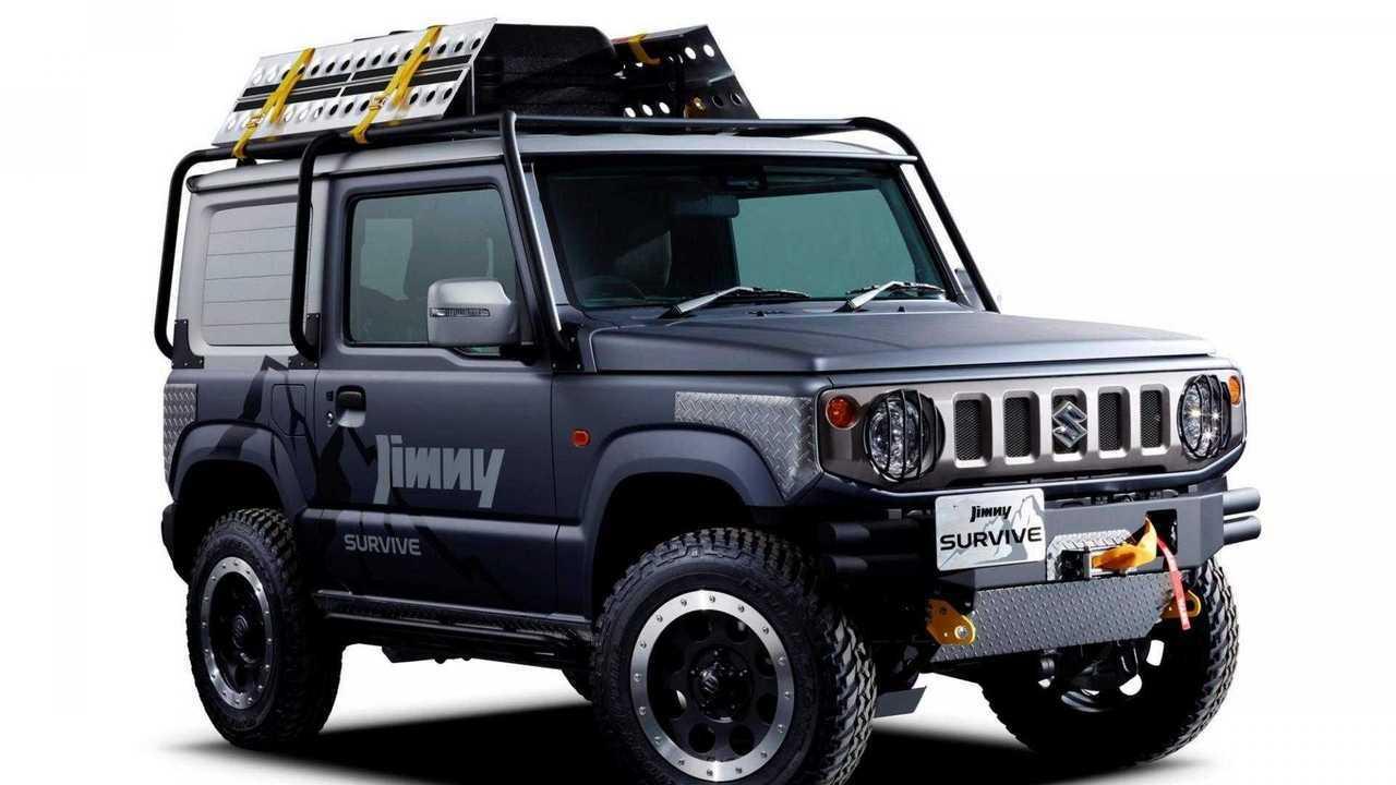 Suzuki Jimny Sierra Survive Concept