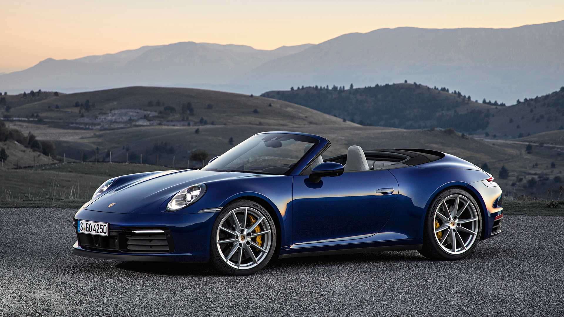 2020 Porsche 911 Cabriolet Debuts With 443 Hp Unlimited Headroom