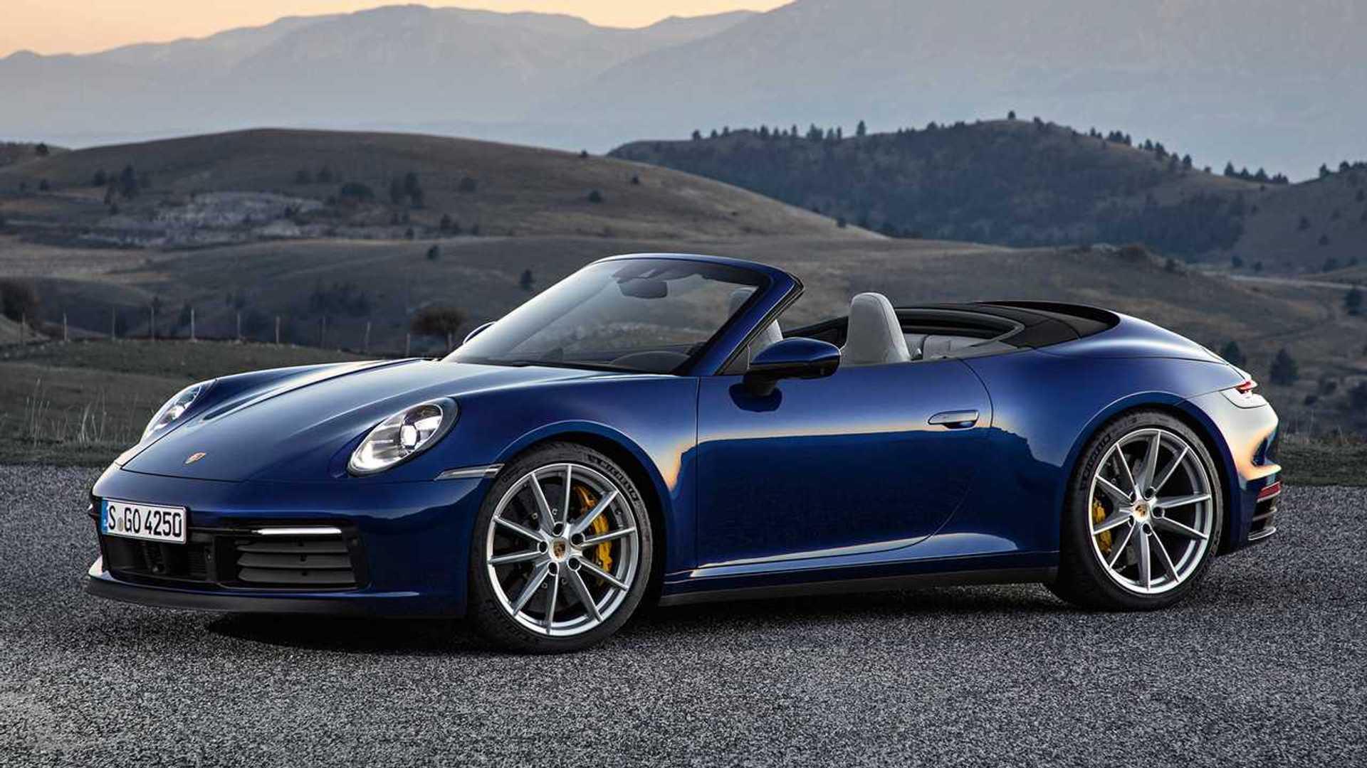 2020 Porsche 911 Cabriolet Debuts With 443 HP, Unlimited Headroom