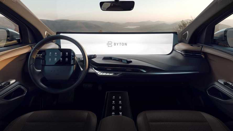 L'infotainment largo come 7 iPad sulla Byton M-Byte