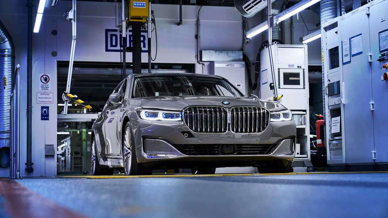 Production BMW Série 7