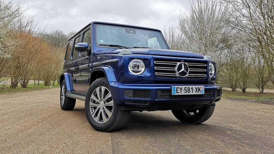 Essai Mercedes Classe G 500 - Crise de la quarantaine