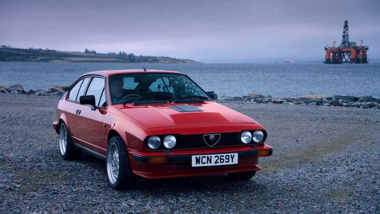 Alfa GTV6 The Grand Tour